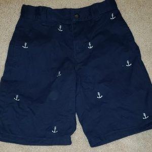 Janie and Jack Sailing shorts size 7